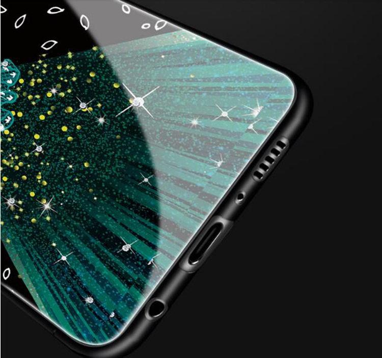 Galaxy S8 Plus ケース ギャラクシー S8 プラスケース SC-03J/SCV35 サンスム スマホケース 背面カバー TPU ガラスケース 女の子 おしゃれ_画像5