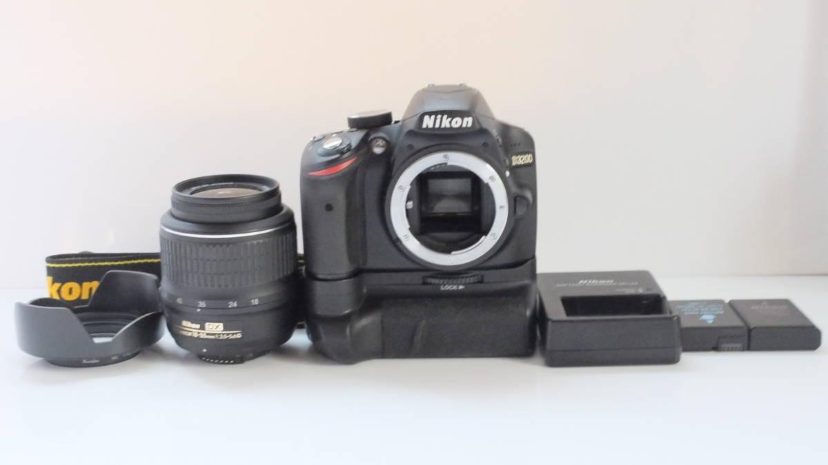 ★良品★ ニコン Nikon D3200 レンズキット ★送料無料★♯78