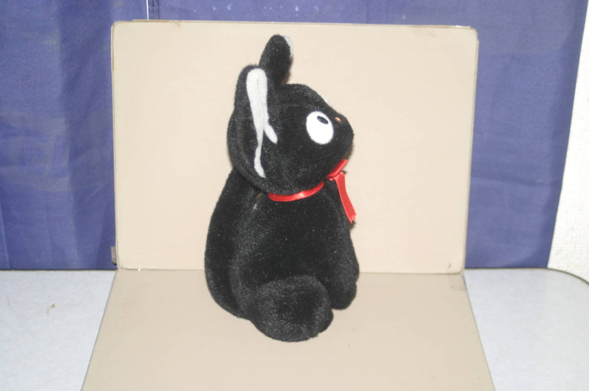ジブリ 魔女の宅急便 ジジ ぬいぐるみ Mサイズ サンアロー 約23cm 黒猫_画像4