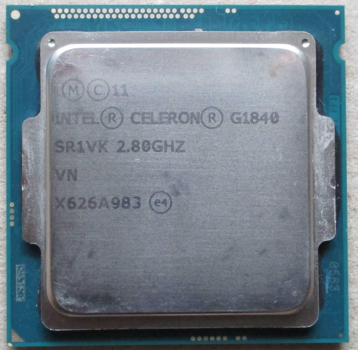 MSI Mini-ITXマザボード[H81I]+INTEL Celeron G1840 2.8GHz (LGA1150) 簡易動作確認済み中古品_画像3