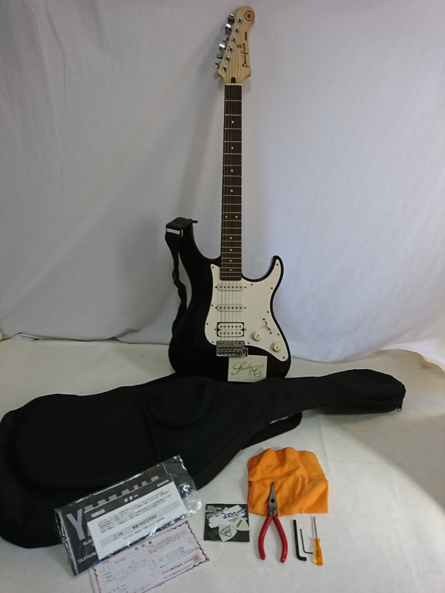 Yamaha Yamaha Electric Guitar Fender Stratocaster Pacificapasifika