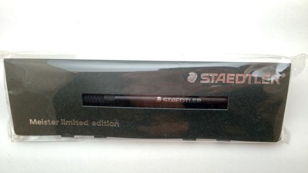 【限定品・極稀少】■ステッドラー マイスターリミテッドエディション 0.5mm 製図用シャープペンシル 新品■STAEDTLER 即日発送 領収書可_画像1