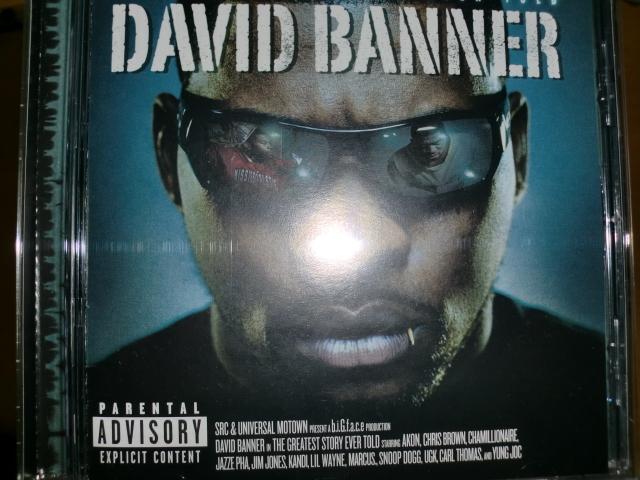 美品 David Banner [Greatest Story Ever Told][South] lil wayne flip ugk bun b outkast kanye west akon t-pain rick ross dj khaled