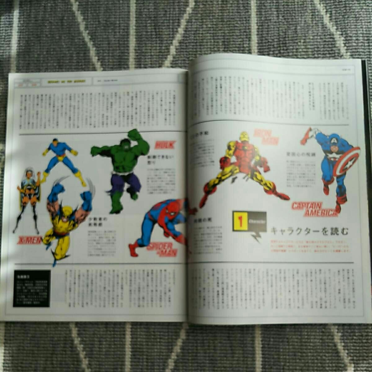 BRUTUS HEROES アメコミ アベンジャーズ MARVEL スパイダーマン キャプテンアメリカ アイアンマン ハルク ヴェノム スタンリー マーベル_画像3