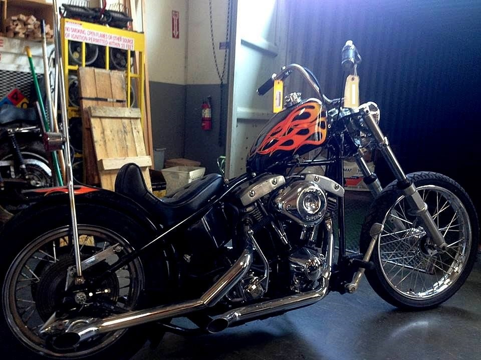 1981* shovel * rigid *1340cc* chopper *Chopper*Shovelhead
