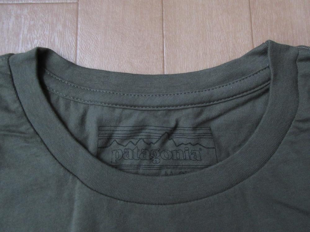 日本未発売 USA製 パタゴニア NEW DAWN LW Tシャツ M PATAGONIA フォト ロープ カットソー 写真 クライミング アウトドア ハイキング 登山_画像5