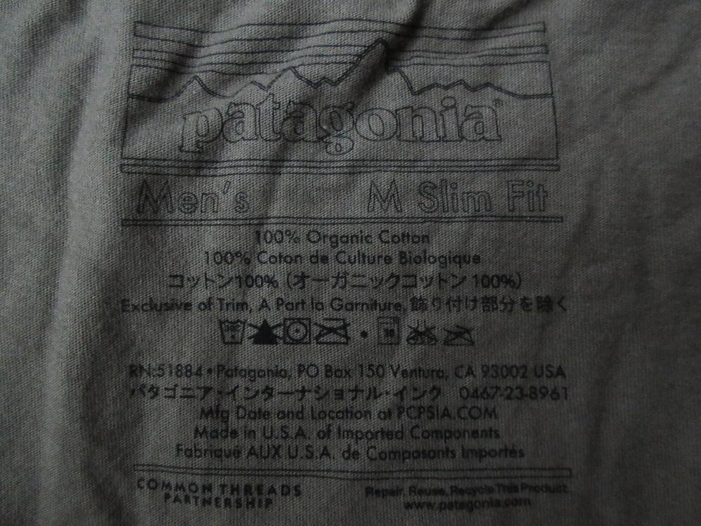 日本未発売 USA製 パタゴニア NEW DAWN LW Tシャツ M PATAGONIA フォト ロープ カットソー 写真 クライミング アウトドア ハイキング 登山_画像9