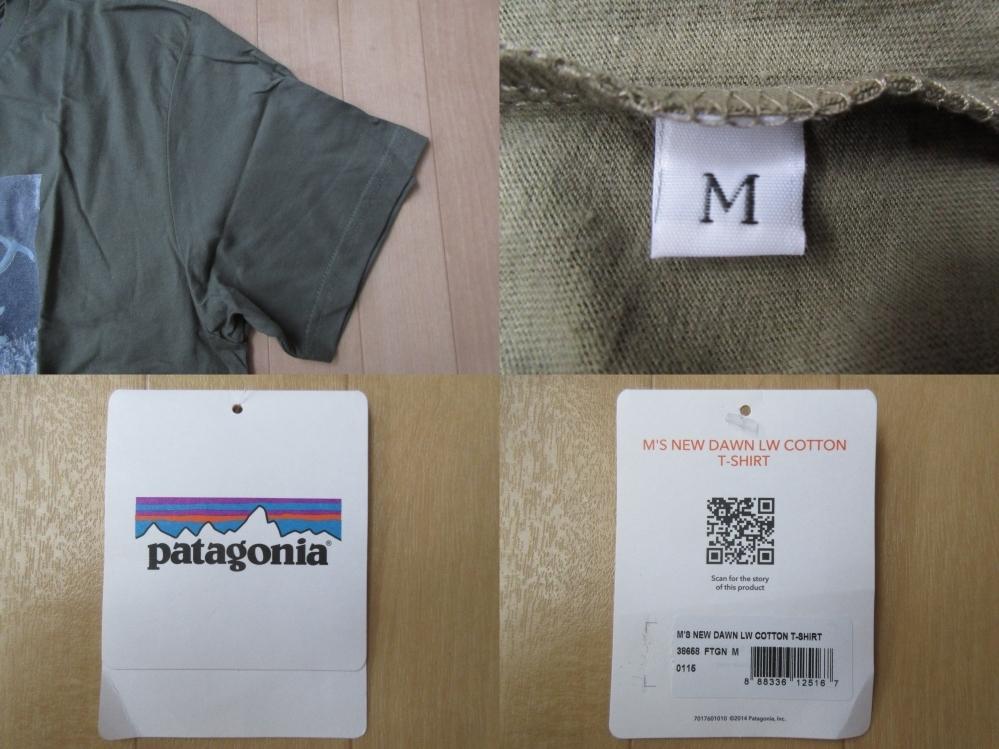 日本未発売 USA製 パタゴニア NEW DAWN LW Tシャツ M PATAGONIA フォト ロープ カットソー 写真 クライミング アウトドア ハイキング 登山_画像10