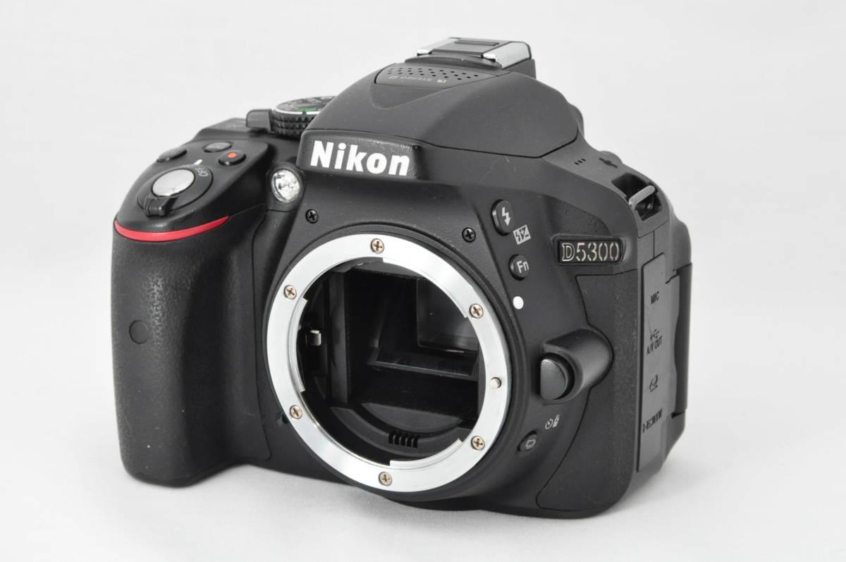 ★極上美品!★ Nikon ニコン D5300 レンズセット (AF-S DX 18-55mm 1:3.5-5.6G VR) 元箱・おまけ付き★付属品は未使用品有り_画像2