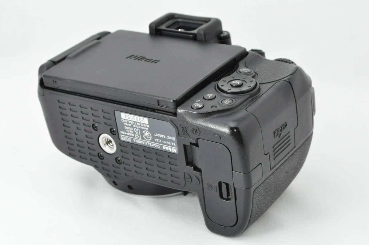 ★極上美品!★ Nikon ニコン D5300 レンズセット (AF-S DX 18-55mm 1:3.5-5.6G VR) 元箱・おまけ付き★付属品は未使用品有り_画像4