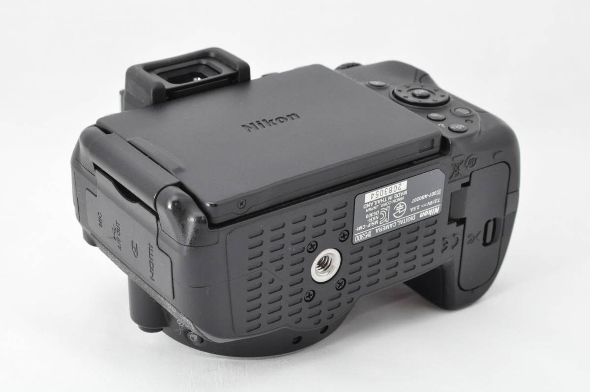 ★極上美品!★ Nikon ニコン D5300 レンズセット (AF-S DX 18-55mm 1:3.5-5.6G VR) 元箱・おまけ付き★付属品は未使用品有り_画像5