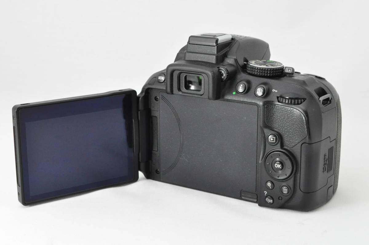 ★極上美品!★ Nikon ニコン D5300 レンズセット (AF-S DX 18-55mm 1:3.5-5.6G VR) 元箱・おまけ付き★付属品は未使用品有り_画像6