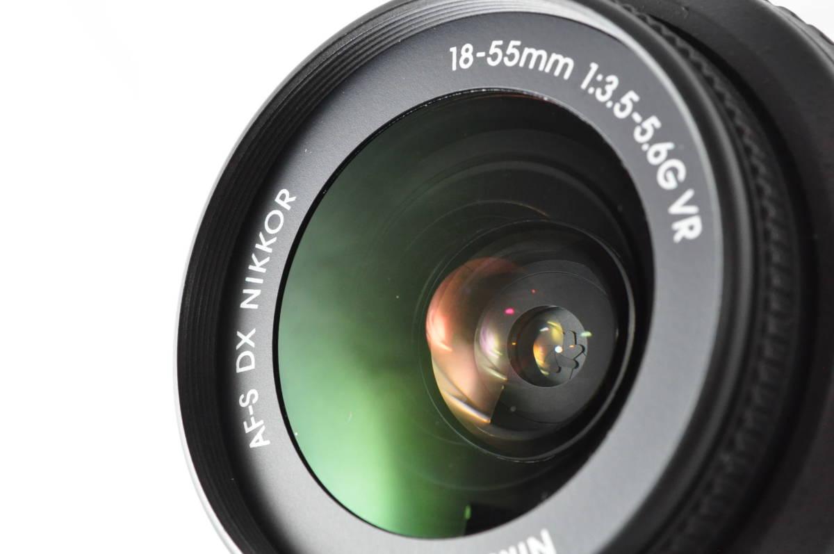 ★極上美品!★ Nikon ニコン D5300 レンズセット (AF-S DX 18-55mm 1:3.5-5.6G VR) 元箱・おまけ付き★付属品は未使用品有り_画像9