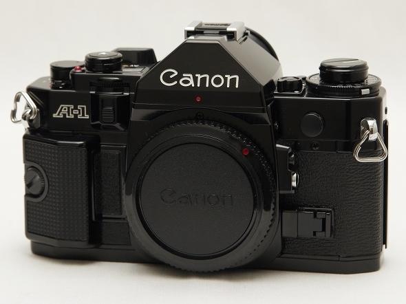 中古美品 動作確認済 Canon A-1 キヤノン フィルム一眼レフカメラ FDマウント