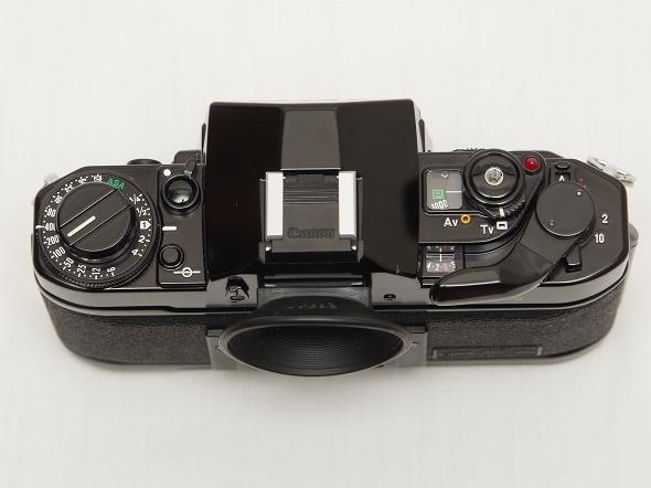 中古美品 動作確認済 Canon A-1 キヤノン フィルム一眼レフカメラ FDマウント_画像5