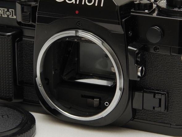 中古美品 動作確認済 Canon A-1 キヤノン フィルム一眼レフカメラ FDマウント_画像8