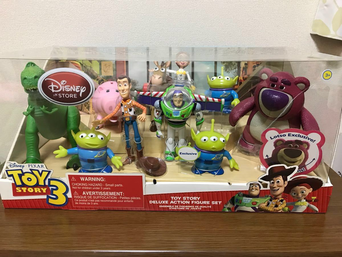 Toy Story Action Figures Set : Toy story deluxe action figure set real yahoo auction salling