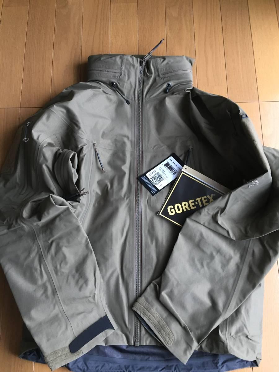 【希少サイズ】アークテリクス LEAF alpha jacket gen2 クロコダイル XS パッチ付き