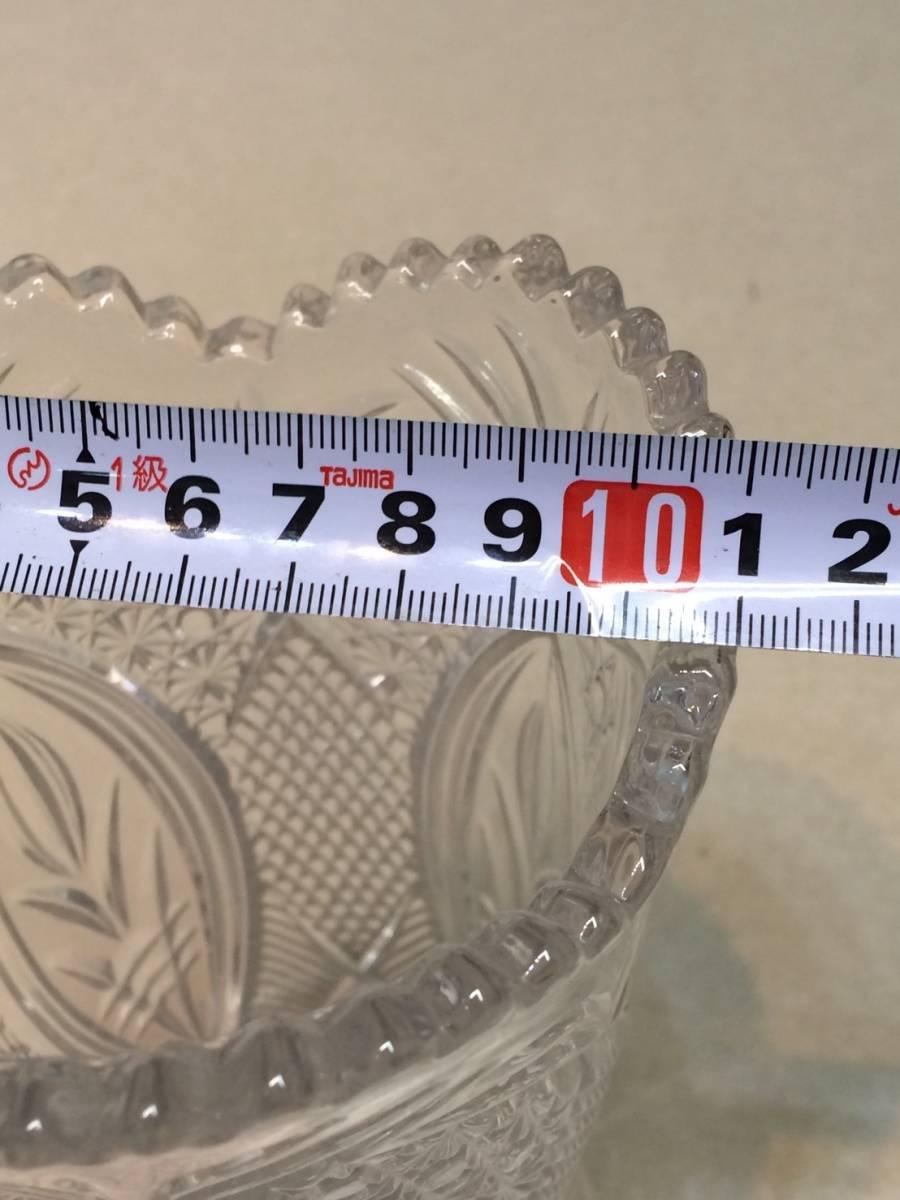 ●未使用 クリスタルガラス 花瓶 花器 フラワーベース 箱 管理:04_画像8