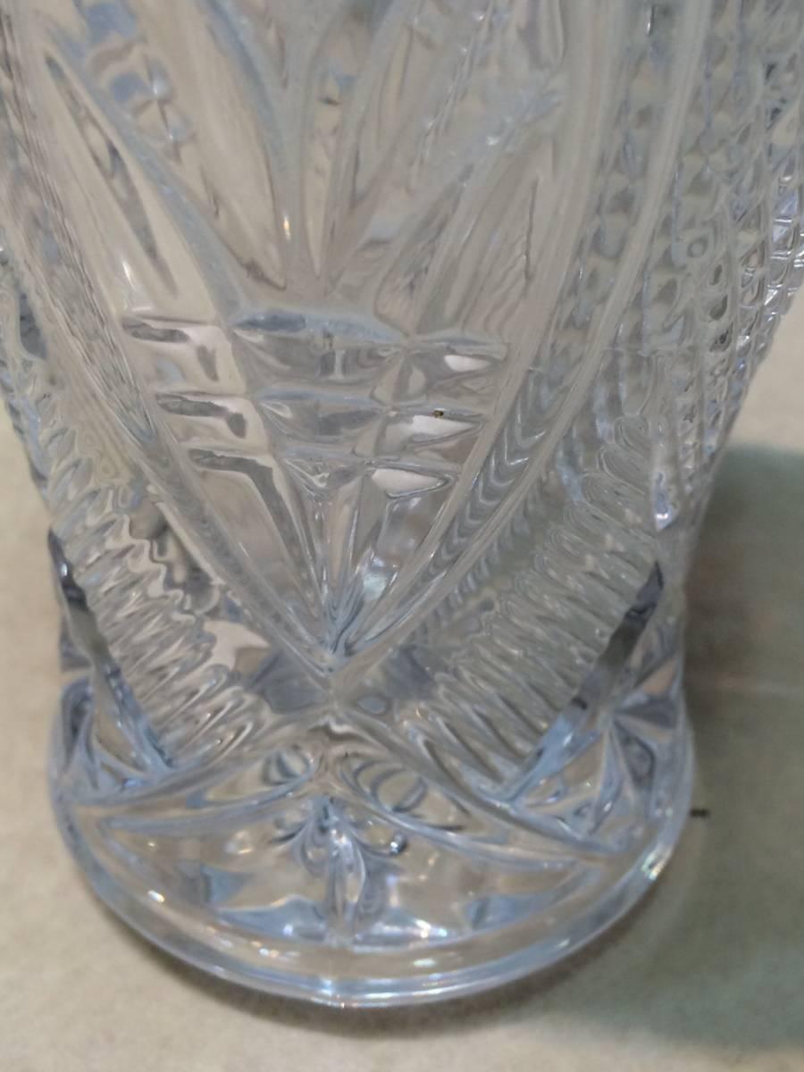 ●未使用 クリスタルガラス 花瓶 花器 フラワーベース 箱 管理:04_画像5