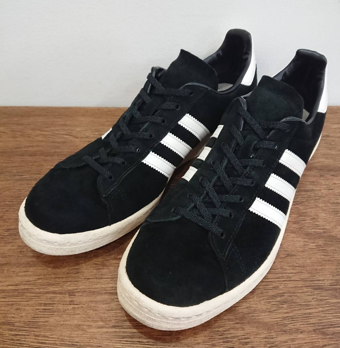 reputable site f26b9 9eb41 1 jpy ~adidas CP 80s JAPAN PACK VNTG sizeUS10.5(28.5cm) black campus  CAMPUS suede sneakers leather reissue black Adidas