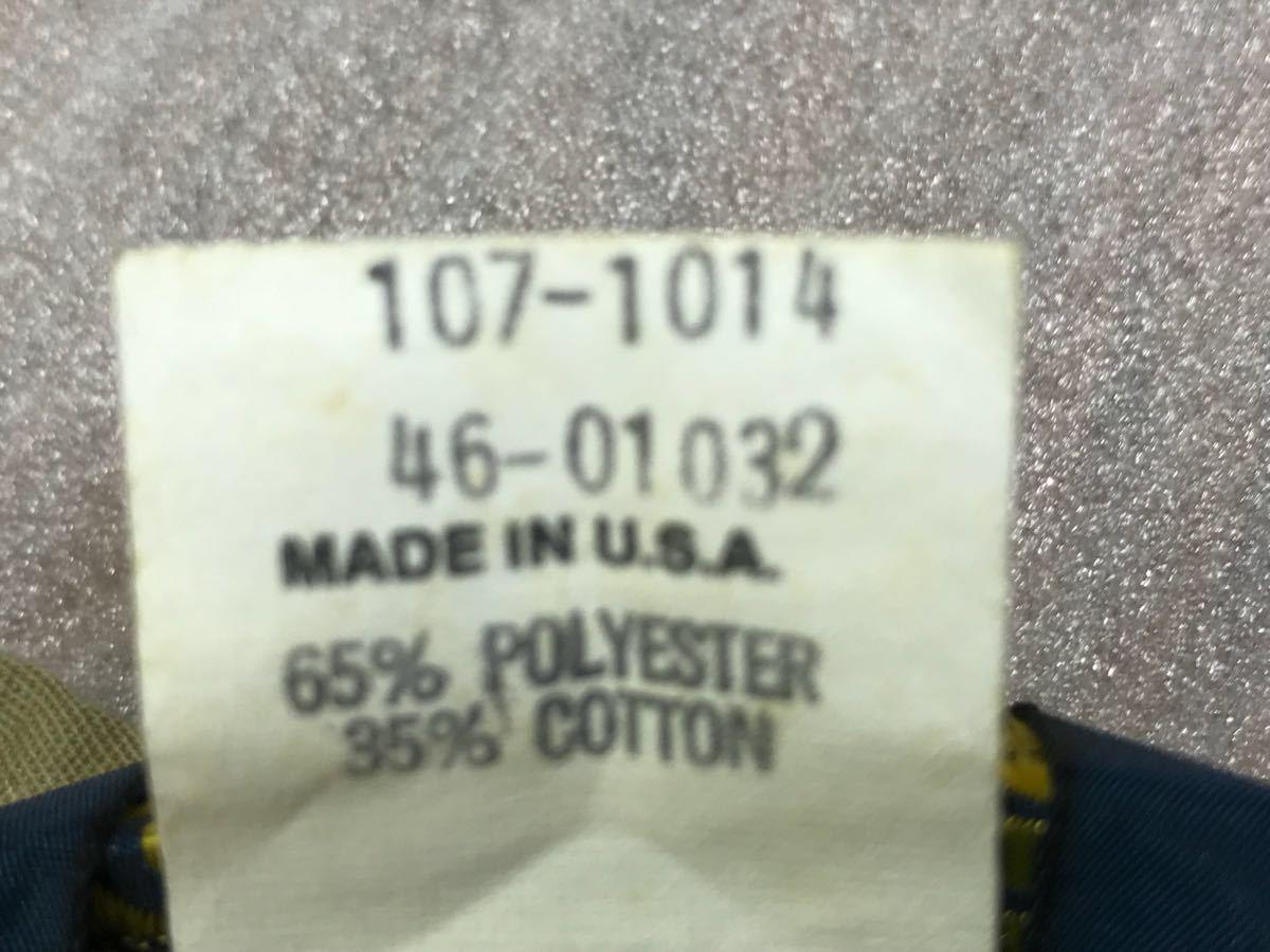 送料250円 超美品 USA製 OSHKOSH オシュコシュ カーキベージュ 長袖ワークシャツ 16 1/2 日本メンズ2L~3L位/大きいサイズ 1000円スタート_画像6