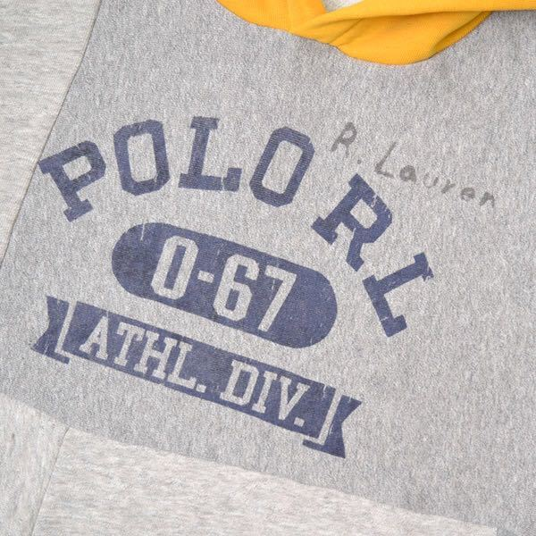 【新品】Polo Ralph Lauren パーカー ポロ ラルフローレン ボーイズ XL メンズS相当 rrl sport rlx ヴィンテージ 復刻 wing foot hi tech_画像2