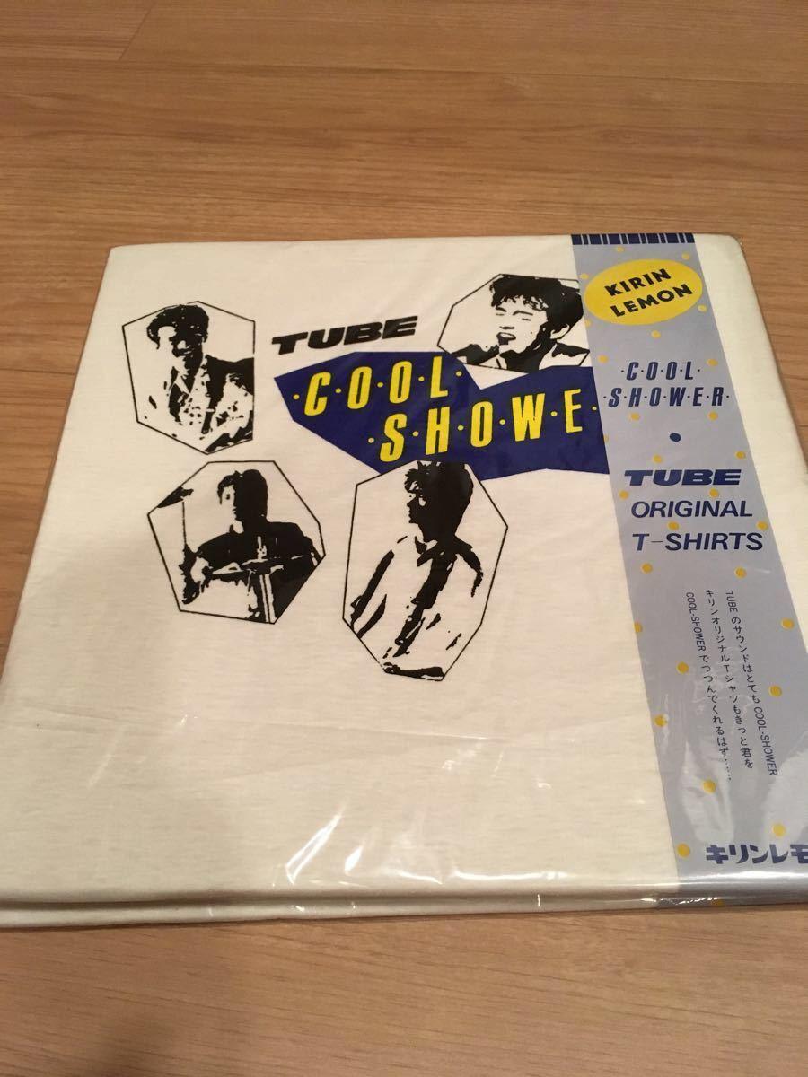 希少!1987年キリンレモン TUBE Tシャツ 販促品 ノベルティグッズ_画像1