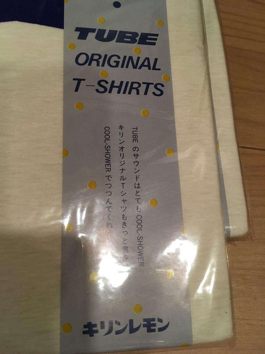 希少!1987年キリンレモン TUBE Tシャツ 販促品 ノベルティグッズ_画像2