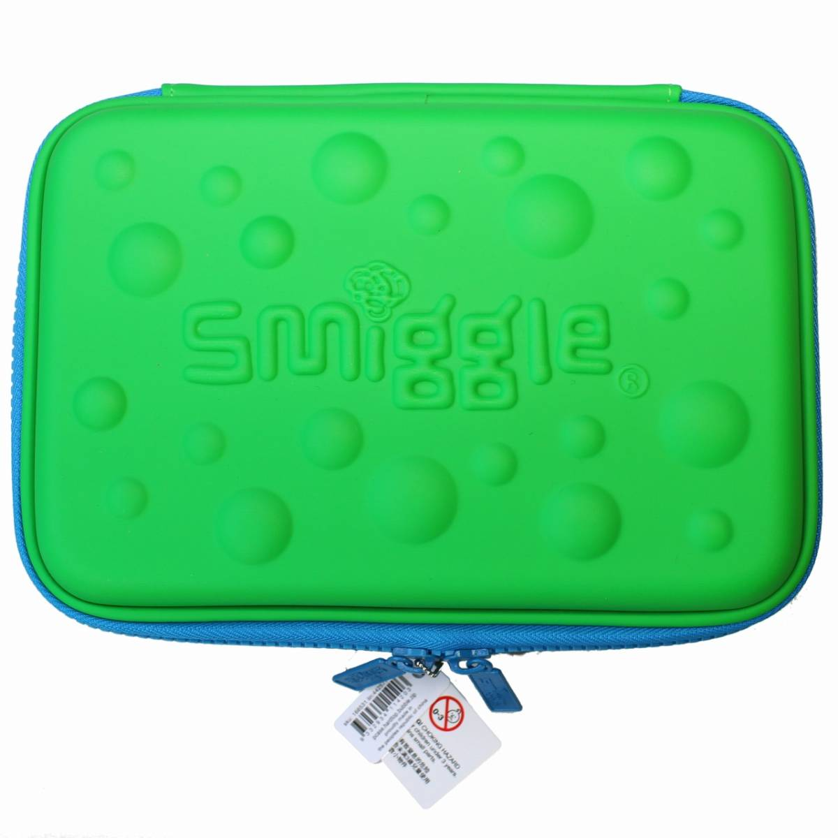 smiggle スミグル 筆箱と文房具 ギフトセットB Bubble Hardtop Crazy Gift Pack (Green) 新品 送料込み メイクケース ポーチ コスメケース_画像2