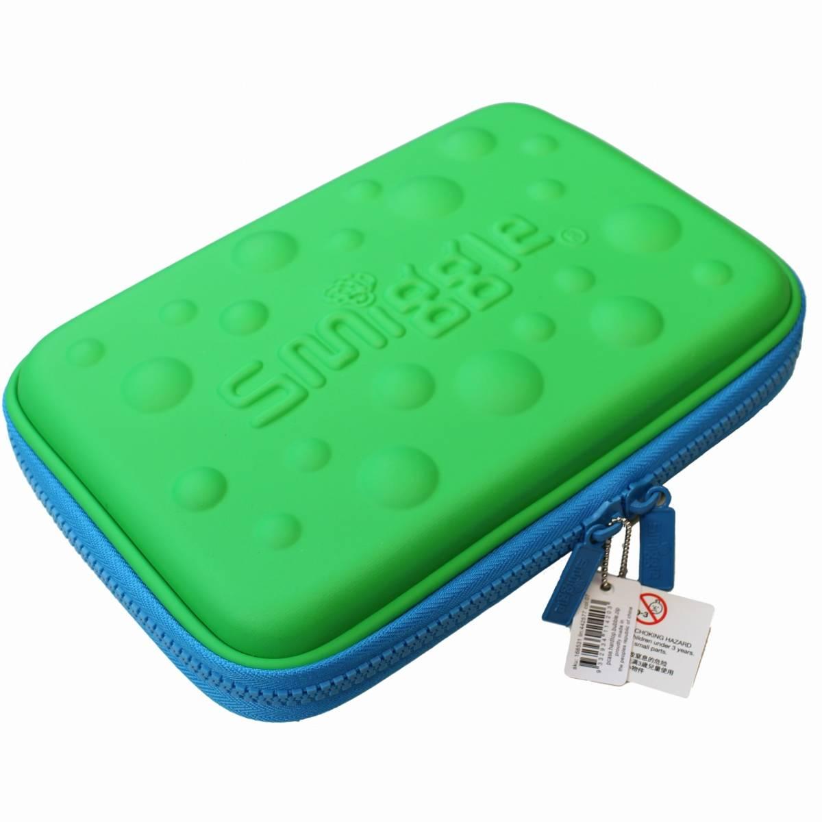 smiggle スミグル 筆箱と文房具 ギフトセットB Bubble Hardtop Crazy Gift Pack (Green) 新品 送料込み メイクケース ポーチ コスメケース_画像3