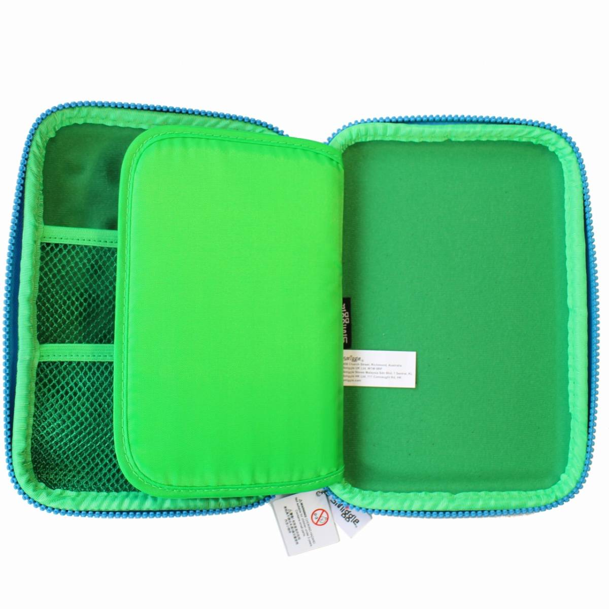 smiggle スミグル 筆箱と文房具 ギフトセットB Bubble Hardtop Crazy Gift Pack (Green) 新品 送料込み メイクケース ポーチ コスメケース_画像6