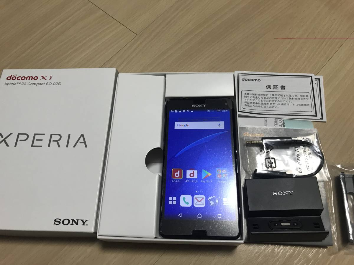 super-beauty goods *Sony Xperia Z3 Compact SO-02G Black