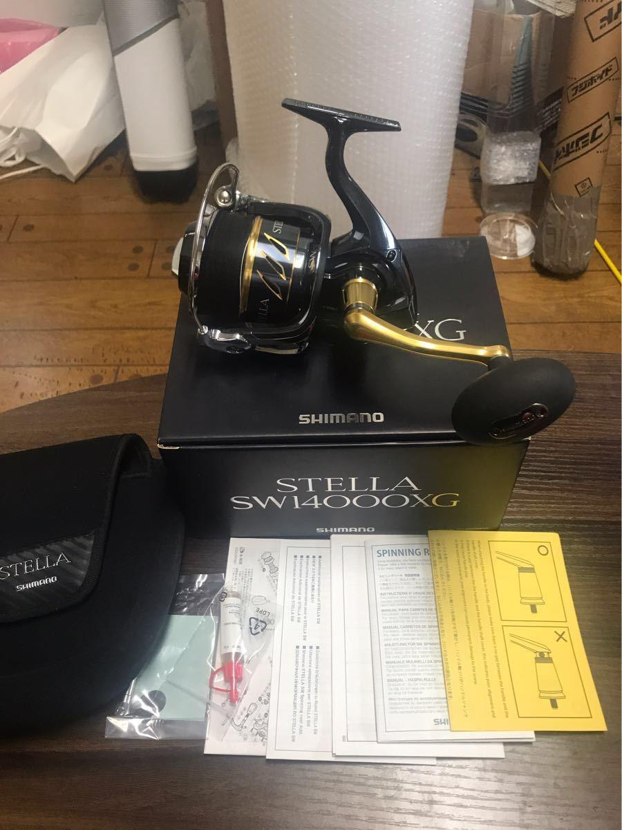 シマノ ステラSW14000xg 使用小 美品