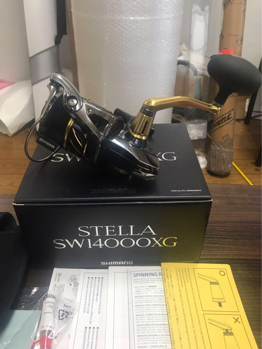 シマノ ステラSW14000xg 使用小 美品_画像6