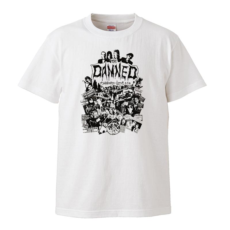 【XSサイズ 新品 】The Damned ダムド バンドTシャツ ロックTシャツ パンク 70s Punk キャプテン・センシブル 甲本ヒロト チバユウスケ_画像1
