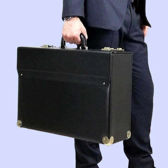 ☆ 価格交渉可能 最安値対応 日本製 ハミルトン フライトケース パイロットケース ビジネスバッグ ブリーフケース 送料無料 20038 ブラック_画像5