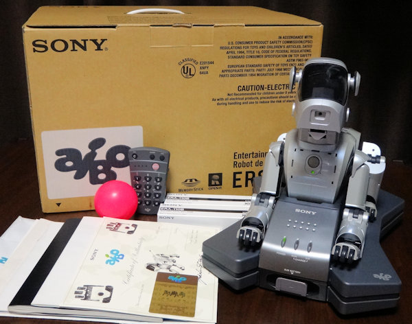 SONY AIBO ERS-111 gray silver ( attached lack of none ) Sony birth entertainment robot * Aibo