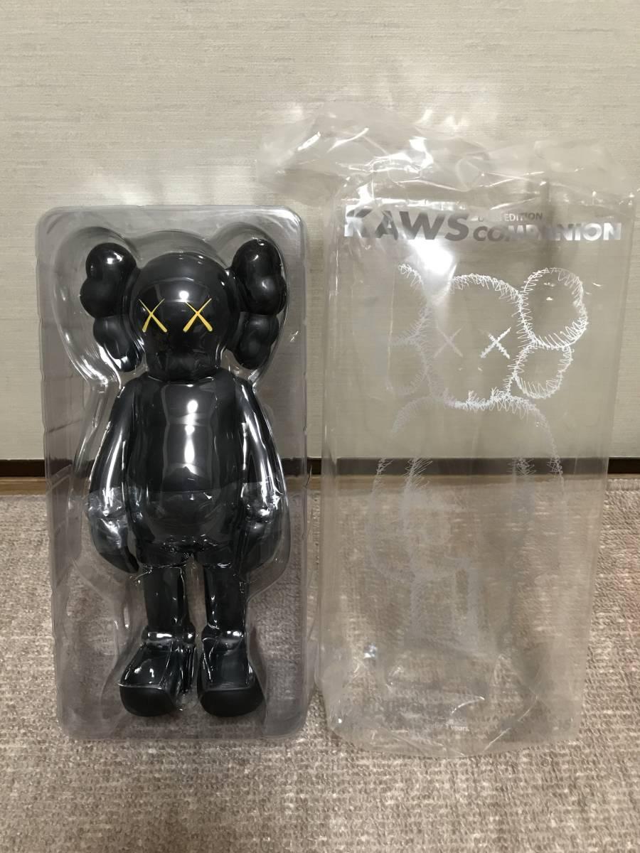 KAWS COMPANION (OPEN EDITION) カウズ コンパニオン 黒 ブラック_画像2