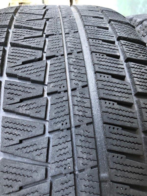 ブリヂストン レボGZ 17インチ 8J +30 5穴 PCD120 225/55R17 4本セット BMW 5シリーズ E60 E61 F10 F11 MOTEC モーテック スタッドレス_画像6