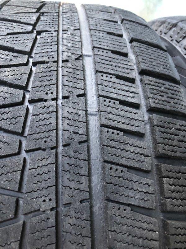 ブリヂストン レボGZ 17インチ 8J +30 5穴 PCD120 225/55R17 4本セット BMW 5シリーズ E60 E61 F10 F11 MOTEC モーテック スタッドレス_画像7