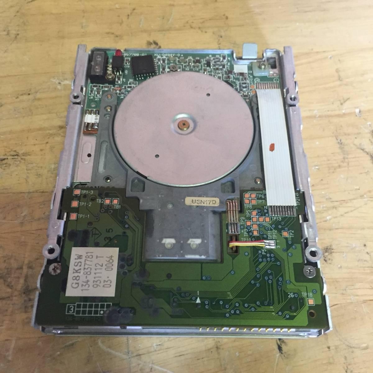 MF20 動作未確認 ジャンク品 NEC FD1138T 3.5インチ FDD_画像2