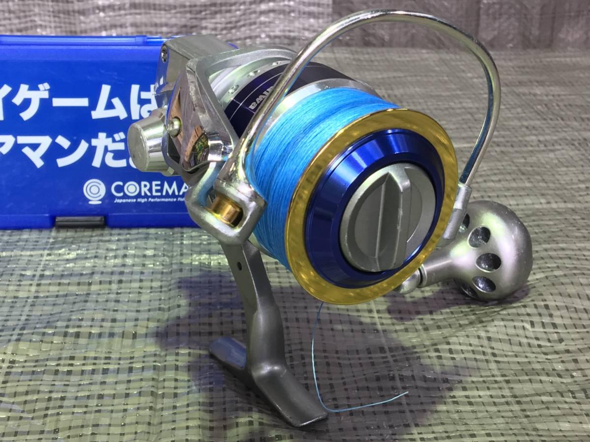 良好 ダイワ Daiwa ソルティガZ 4500H PEライン付き と おまけ付き_画像3