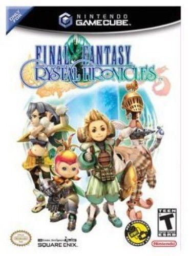 海外限定版 海外版 ゲームキューブ ファイナルファンタジー・クリスタルクロニクル Final Fantasy Crystal Chronicles Game Cube