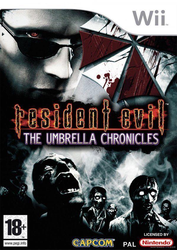 海外限定版 海外版 Wii バイオハザード アンブレラ・クロニクルズ Resident Evil The Umbrella Chronicles_画像1