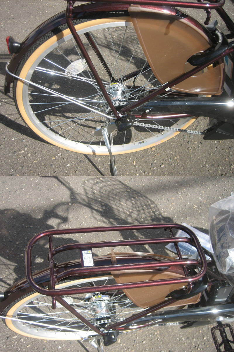 ◆新車・保証付◆ブリヂストン◆電動アシスト自転車◆アシスタファイン◆A6FC18◆26インチ◆_画像6