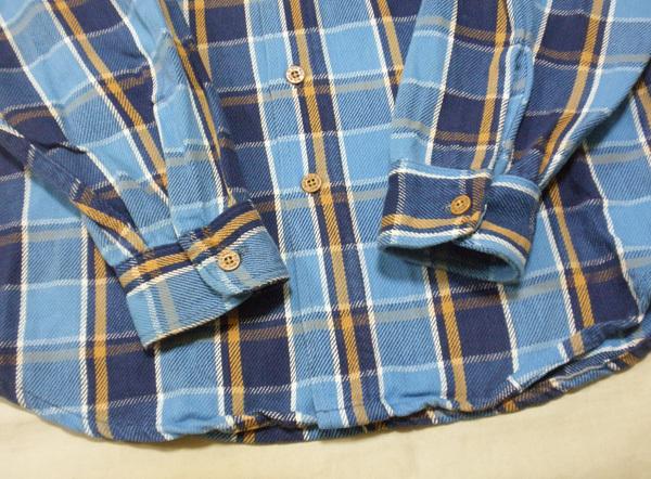 L【90's/BIGMAC・ネルシャツ】ビッグマック ヘビーネル ヴィンテージ ワークシャツ 90年代 チェックシャツ 米国製 USA製 古着_画像3