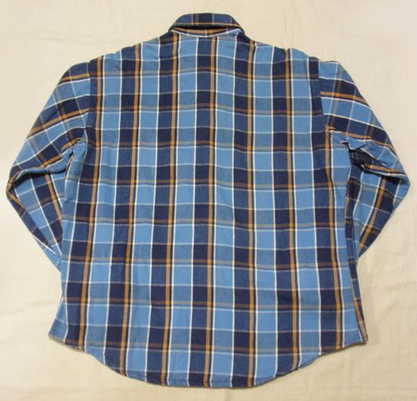 L【90's/BIGMAC・ネルシャツ】ビッグマック ヘビーネル ヴィンテージ ワークシャツ 90年代 チェックシャツ 米国製 USA製 古着_画像6