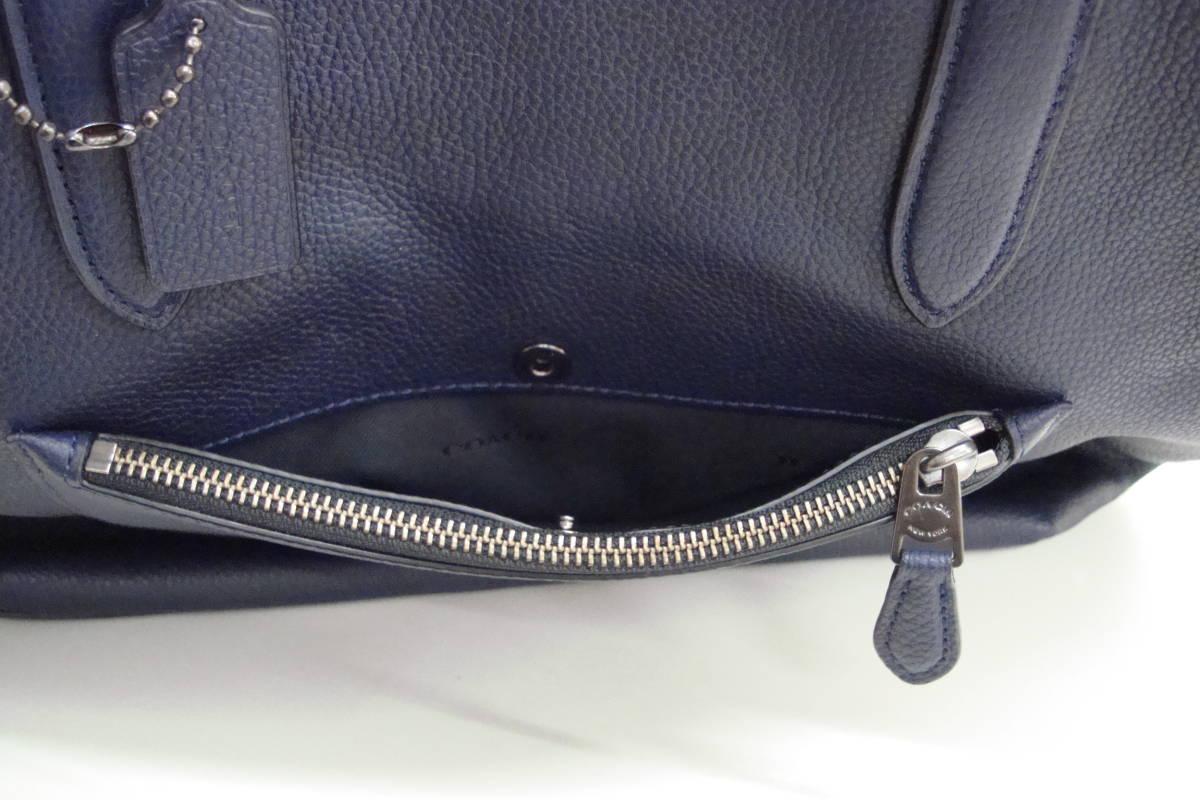 12c968760011 COACHコーチトートバッグショルダーバッグ鞄ネイビー美品B1780-72299. 商品數量: :1