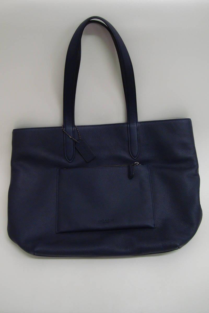 58183d85976f 代購代標第一品牌- 樂淘letao - COACHコーチトートバッグショルダーバッグ鞄ネイビー美品B1780-72299